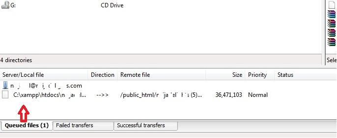 how to resume file upload after interruption